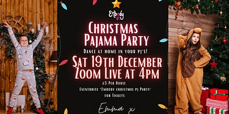 Embody Christmas PJ Party! tickets