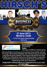 Business Networking Breakfast tickets
