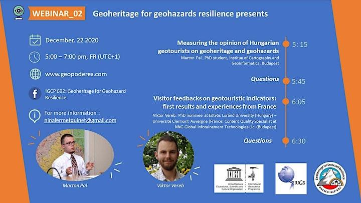 Webinar 02_Geoheritage for Geohazard Resilience image