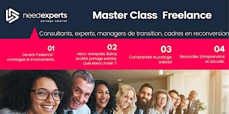 Master Class - Devenir Freelance billets