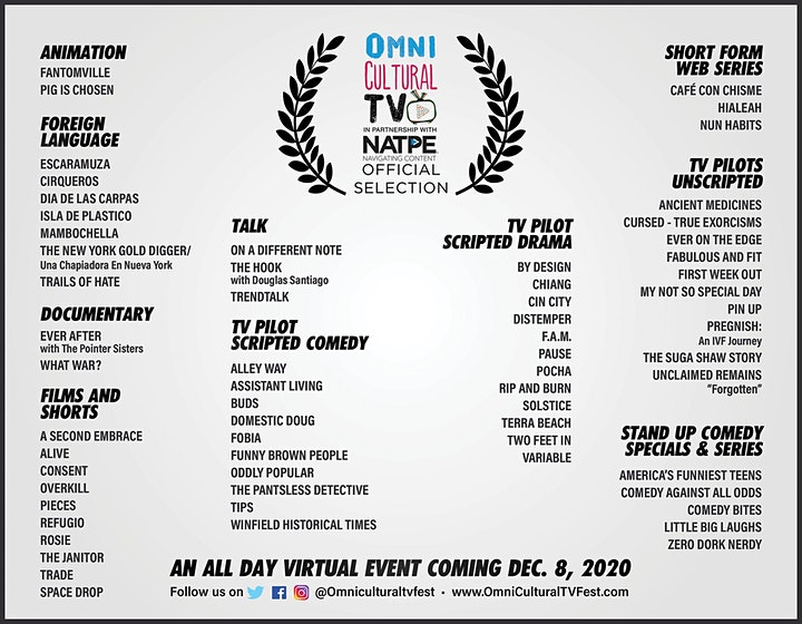Omni Cultural TV Fest 2020 - Virtual Event image
