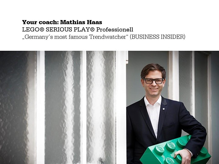 Official Remote Certification for LEGO® SERIOUS PLAY® with Mathias Haas/EN image
