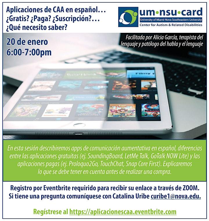 Imagen de Aplicaciones de CAA en español... ?Que Necesito Saber?