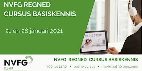 NVFG RegNed cursus Basiskennis tickets