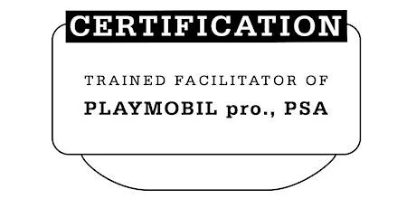 Führende Zertifizierung für PLAYMOBIL pro. mit Mathias Haas/DEUTSCH Tickets