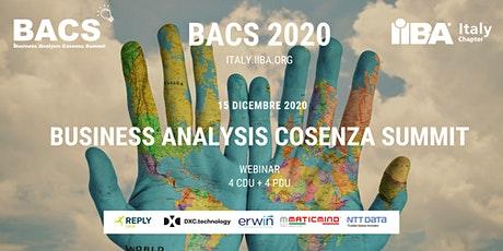 BACS 2020 - Business Analysis Cosenza Summit biglietti