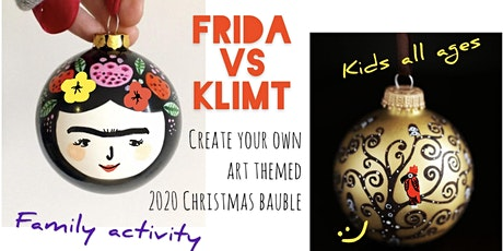 Christmas Bauble - Online Art Session for Kids (all ages) tickets