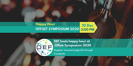 DEF Hosts Happy Hour at Offset Symposium 2020 tickets