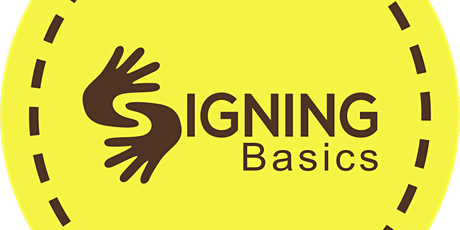 Signing Basics: ASL Sign Language Course tickets