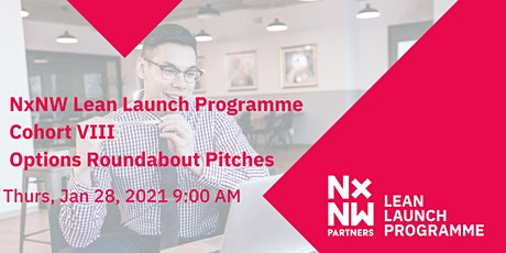 Lean Launch Programme Cohort VIII- Options Roundabout Pitches tickets