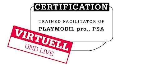 Führende Remote Zertifizierung für PLAYMOBIL pro. mit Mathias Haas/DEUTSCH Tickets