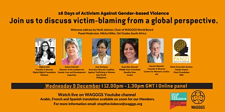 Who is to blame? Victim blaming from a global perspective tickets