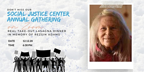 Social Justice Center Annual Gathering tickets