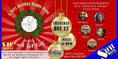 A Very Holiday Happy Hour Presented by: Last Set Girl tickets