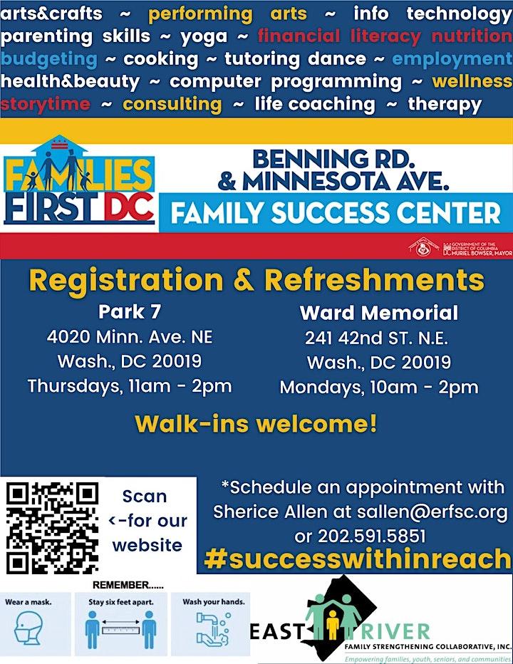 Minnesota Ave/Benning Rd. FSC - Registration & Refreshments image