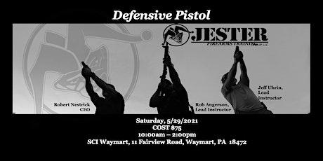 JESTER Group Pistol 3: Defensive Pistol tickets