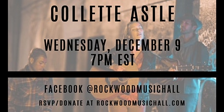 Collette Astle - FACEBOOK LIVE tickets