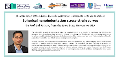 AMS CDT Seminar with Prof. Sid Pathak tickets