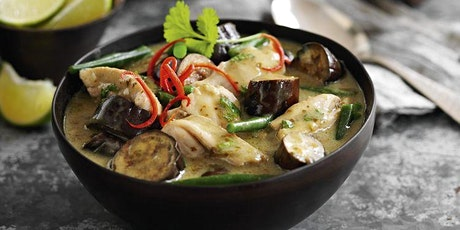 Livestream Online Cookery Class - Thai Green Curry tickets