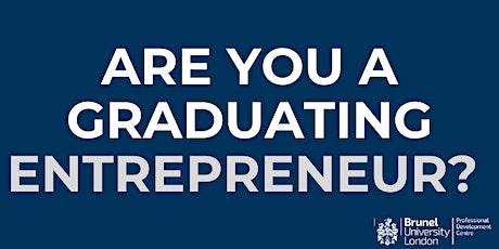 Graduate Entrepreneur Scheme: Find out more! tickets