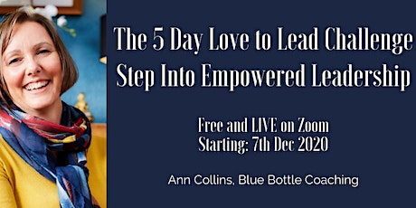 5 Day FREE Love to Lead Challenge (1hr per day on a LIVE Zoom) tickets