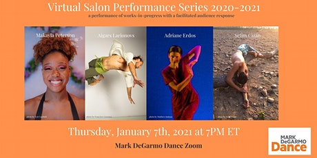 Virtual Salon Performance Series: January 7th, 2021 tickets
