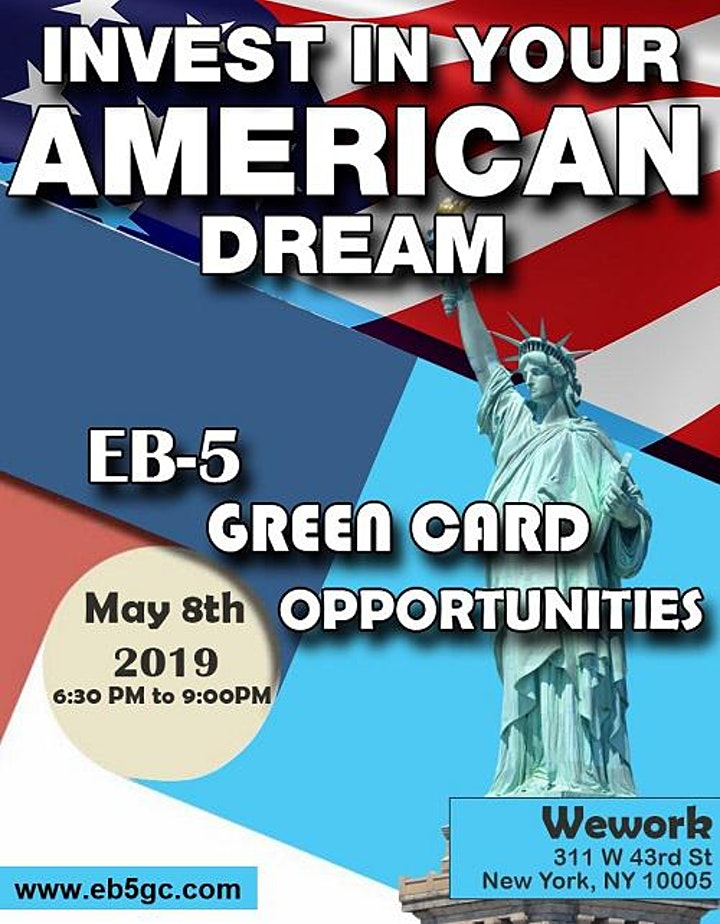 SPECIAL EB-5 Green Card OPPORTUNITIES - Invest In Your American Dream image