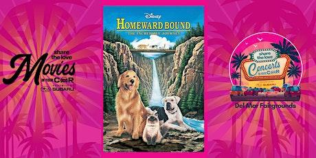 Homeward Bound: The Incredible - SUBARU Presents Movies In Your Car DELMAR tickets