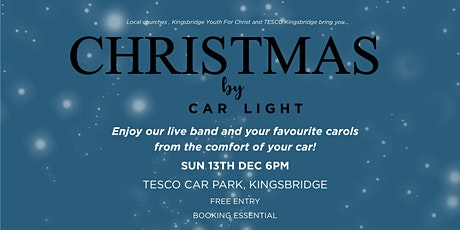 Christmas By Car Light tickets