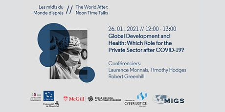 Global Development and Health: Which Role for the Private Sector? tickets