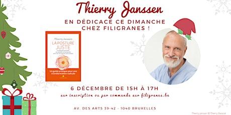 Thierry Janssen en dédicace ! billets