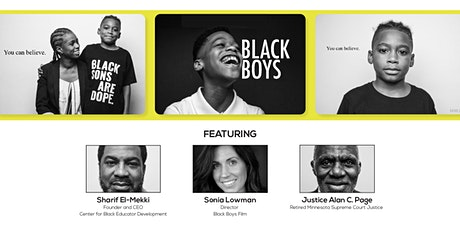 BLACK BOYS:  CONVERSATION AND FILM SCREENING tickets