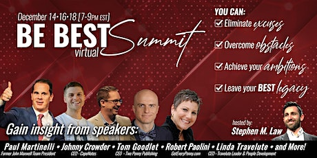 Be Best Virtual Summit tickets