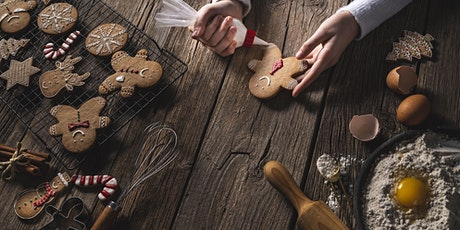 Ginger Bread Christmas Class (Baking and Decorating) - For Kids tickets