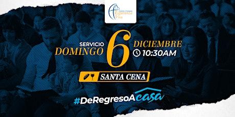 Servicio Domingo 6 diciembre boletos