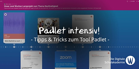Padlet intensiv! - Tipps & Tricks zum Tool Tickets