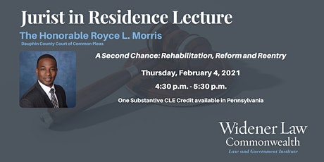 A Second Chance: Rehabilitation, Reform and Reentry tickets