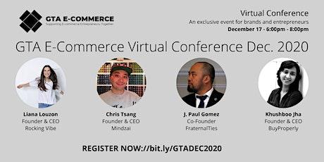 GTA E-Commerce Virtual Conference (Dec. 2020) tickets