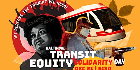 Virtual Rally: Baltimore Transit Equity Solidarity Day! tickets