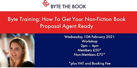 Byte Training: How to Get Your Non-Fiction Book Agent Ready tickets