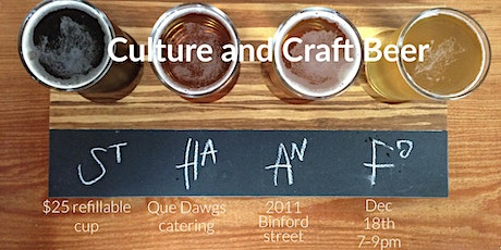 Culture and Craft Beer tickets