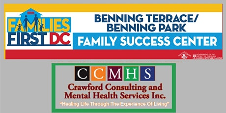 Benning Terrace/Benning Park FSC - Therapy & Wellness Sessions via Zoom tickets