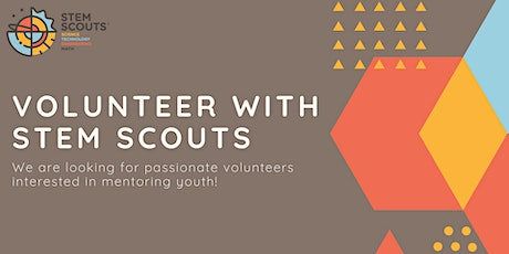 STEM Scouts - Volunteer Information Session tickets
