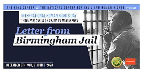 Letter From Birmingham Jail Program tickets