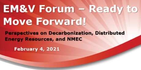 2021 EM&V Forum - Ready to Move Forward! tickets