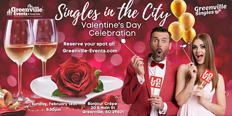 Valentine's Day Celebration, Singles in the City tickets
