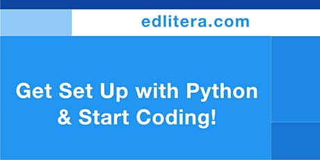 Intro to Python Workshop: Get Set Up and Start Coding! tickets