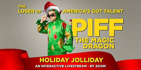 Piff the Magic Dragon - Holiday Jolliday Virtual Show tickets