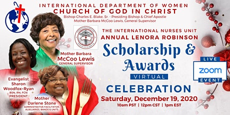 International Nurses Unit Scholarship & Awards Virtual Celebration tickets
