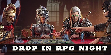 Wacky Wednesday Drop in RPG Night (D&D) tickets